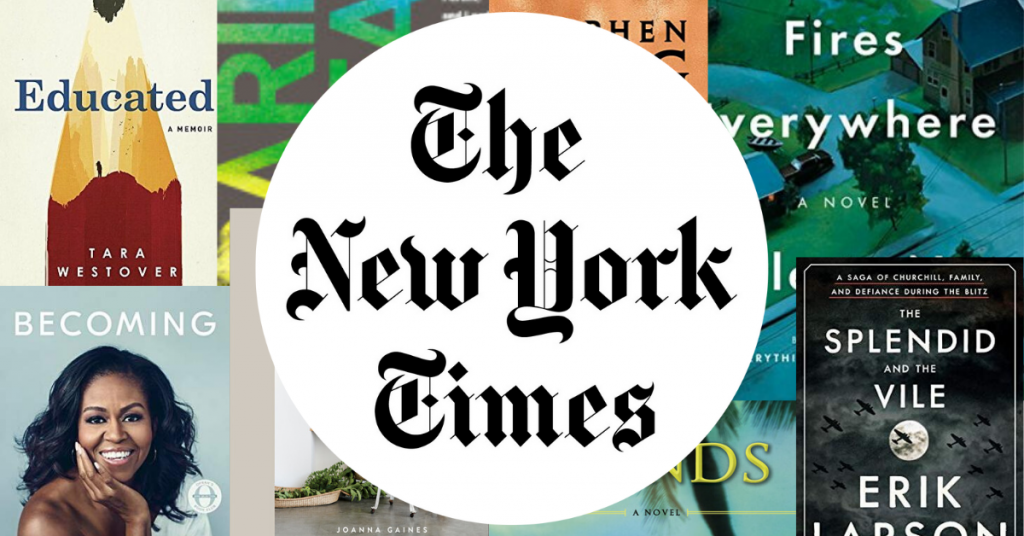 Image: Best Seller The New York Times