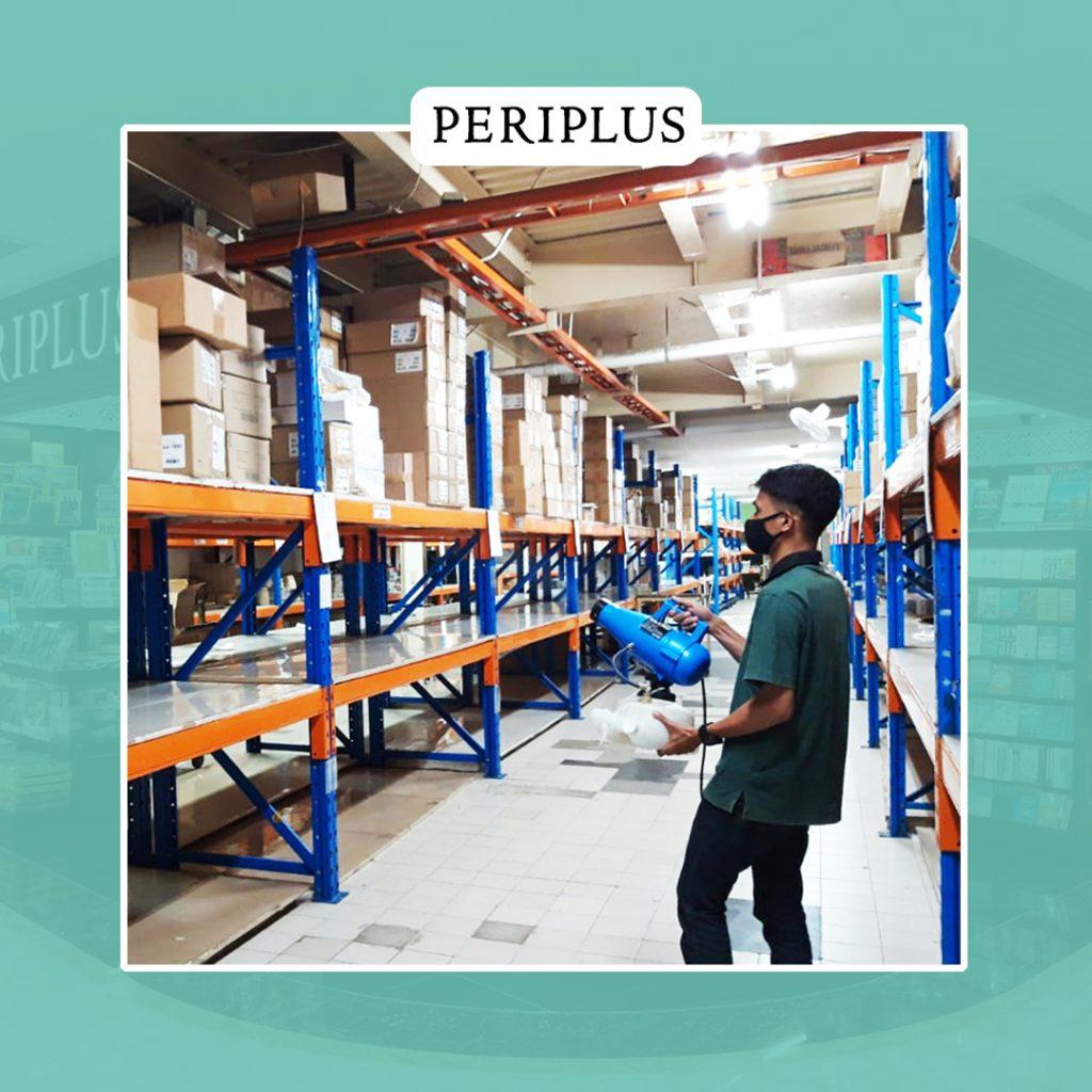 image : Terapi Disinfektan Warehouse Periplus