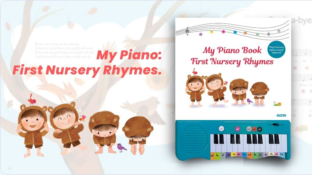 Image : My Piano Book FIrst Nursery Rhymes