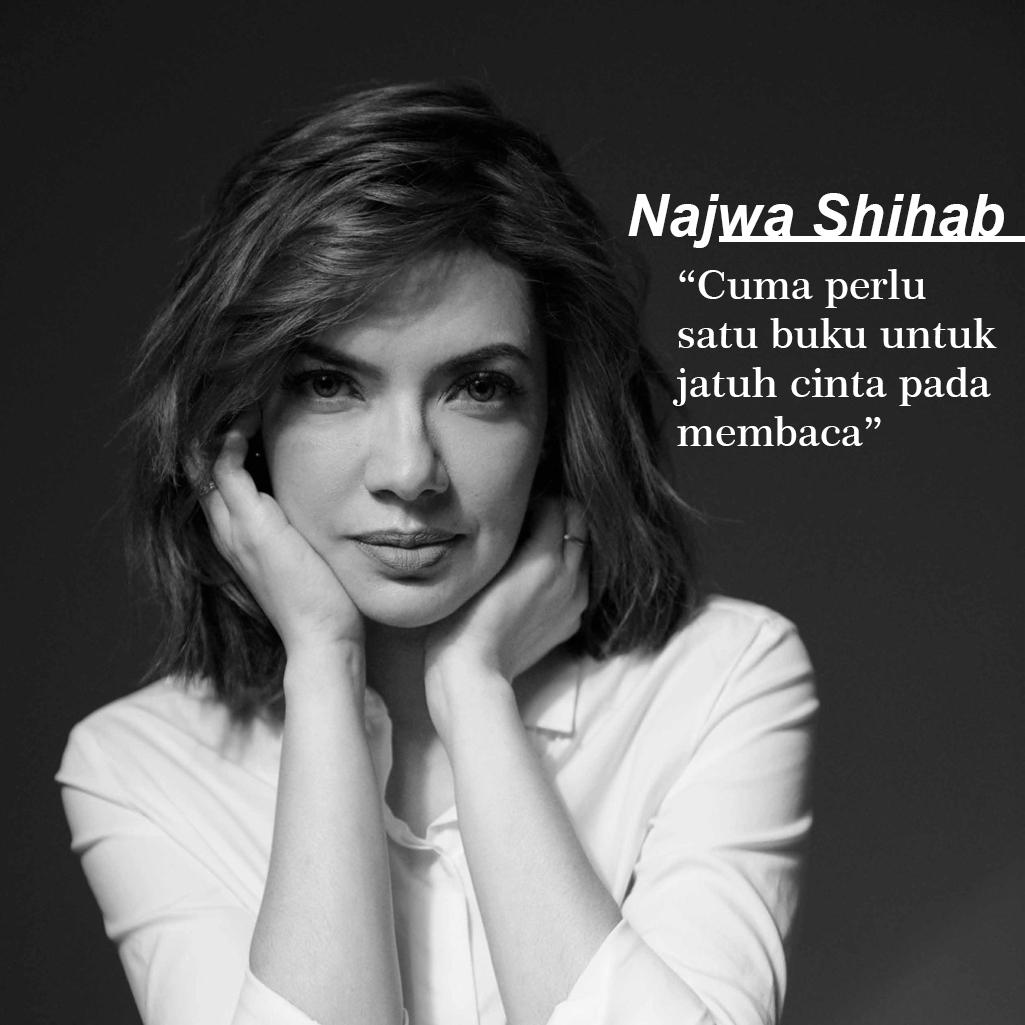 """image : Najwa Shihab: """"Cuma perlu satu buku untuk jatuh cinta pada membaca"""""""