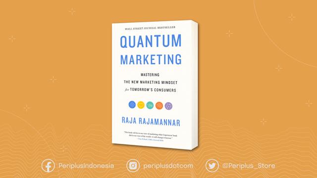 image: cover buku Quantum Marketing: Raja Rajamannar