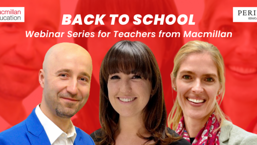 BACK TO SCHOOL: Webinar Series for Teachers from Macmillan