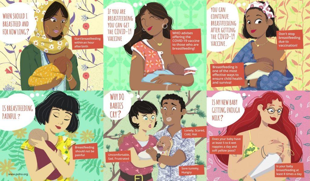 Hari Ibu Menyusui Sedunia 2021
